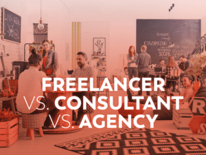 Freelancer vs Consultant vs Agency