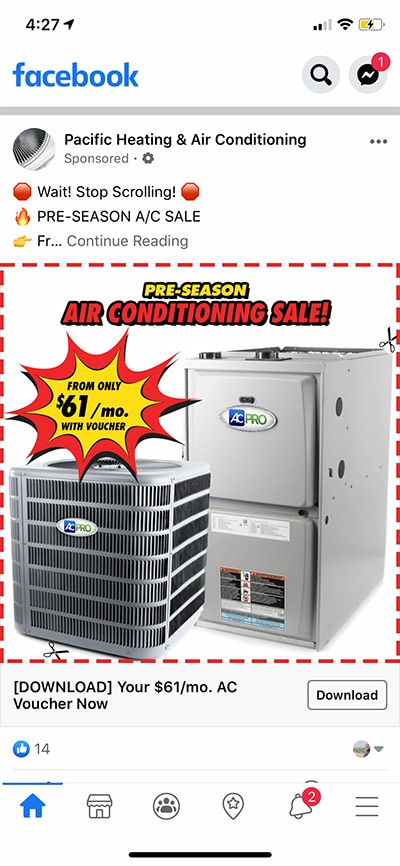 HVAC-facebook-ad