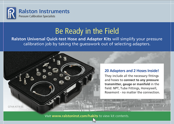 Ralston Instruments Postcard -Newsletter Follow Up