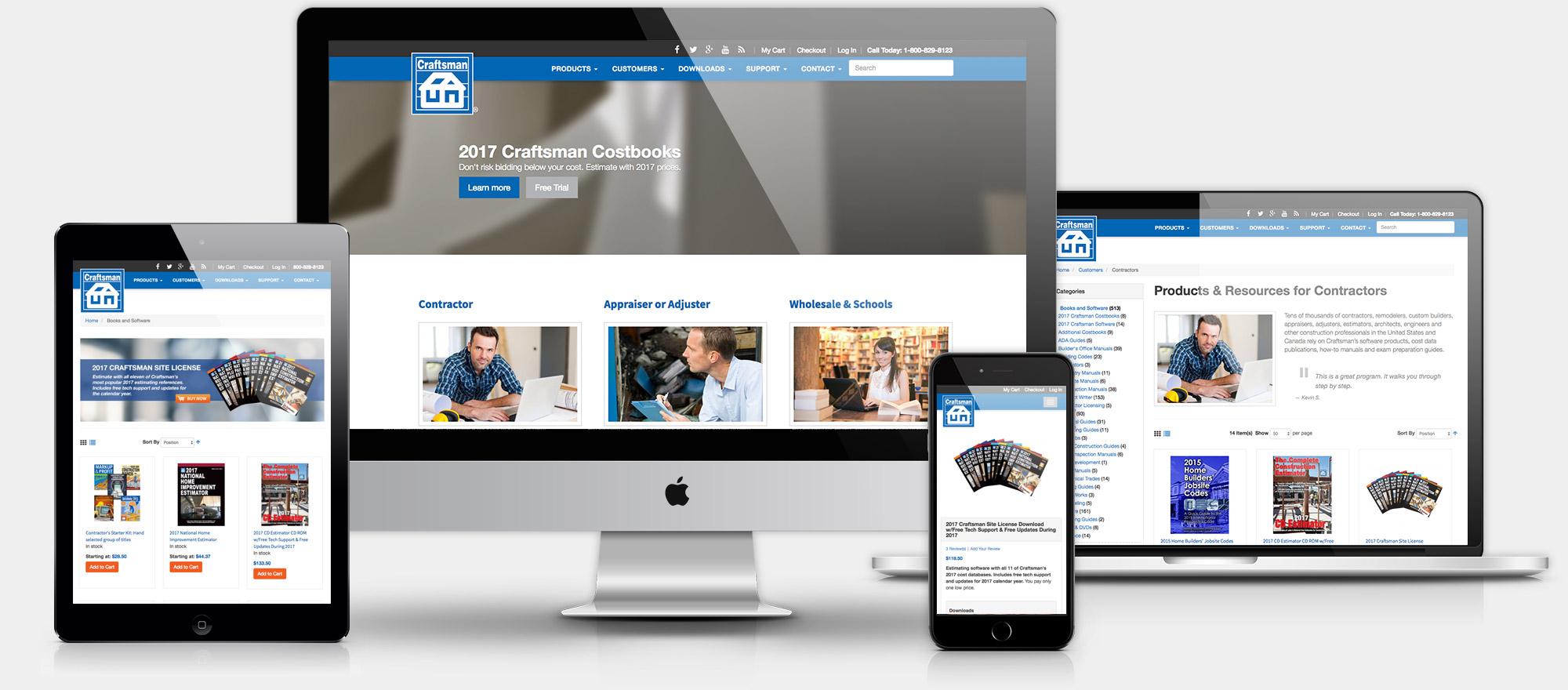 craftsman-website