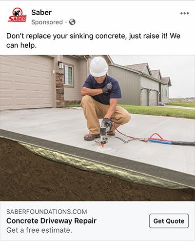 driveway-repair-facebook-ad