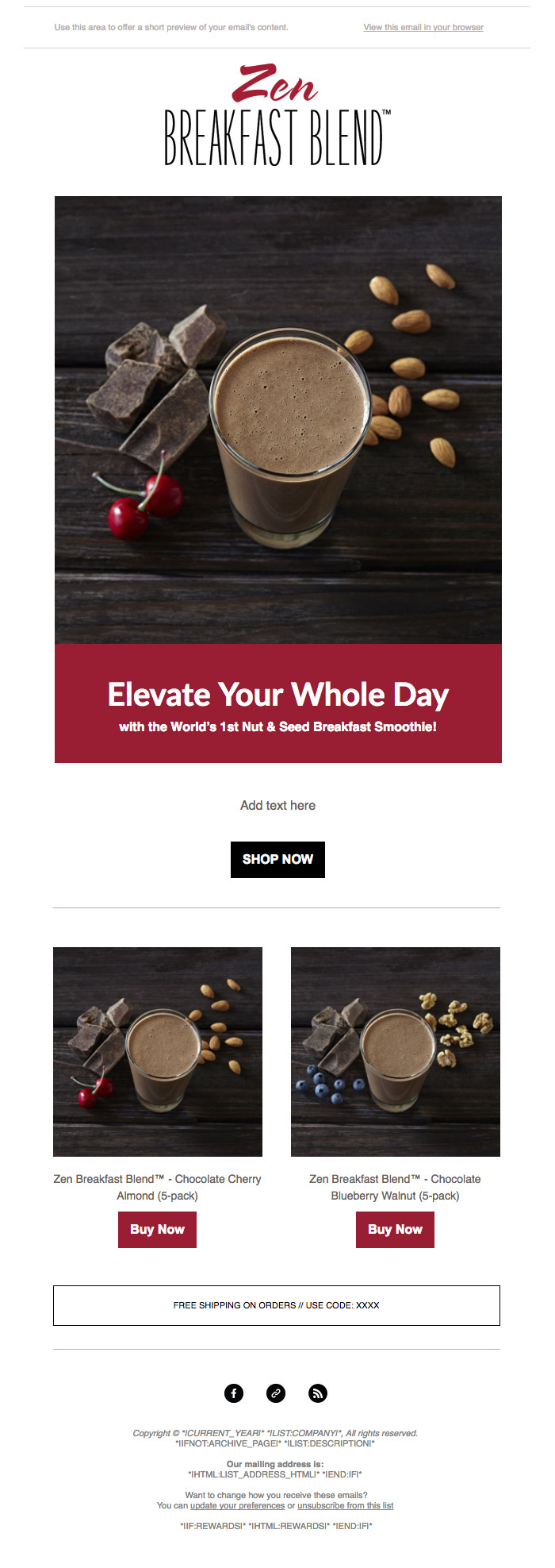 ecommerce-mailchimp-email-template