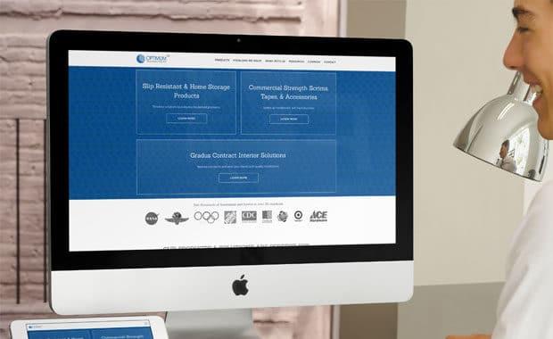 manufacturing company web design