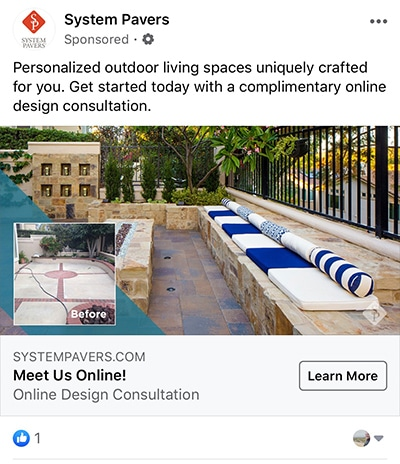 pavers-facebook-ad