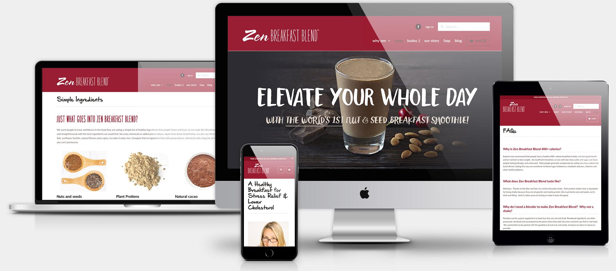 zenbreakfast-website